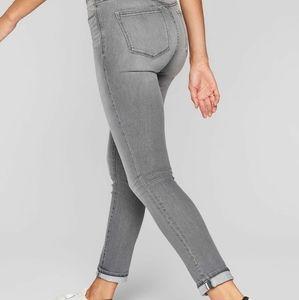 Athleta sculptek skinny crop denim Jeans
